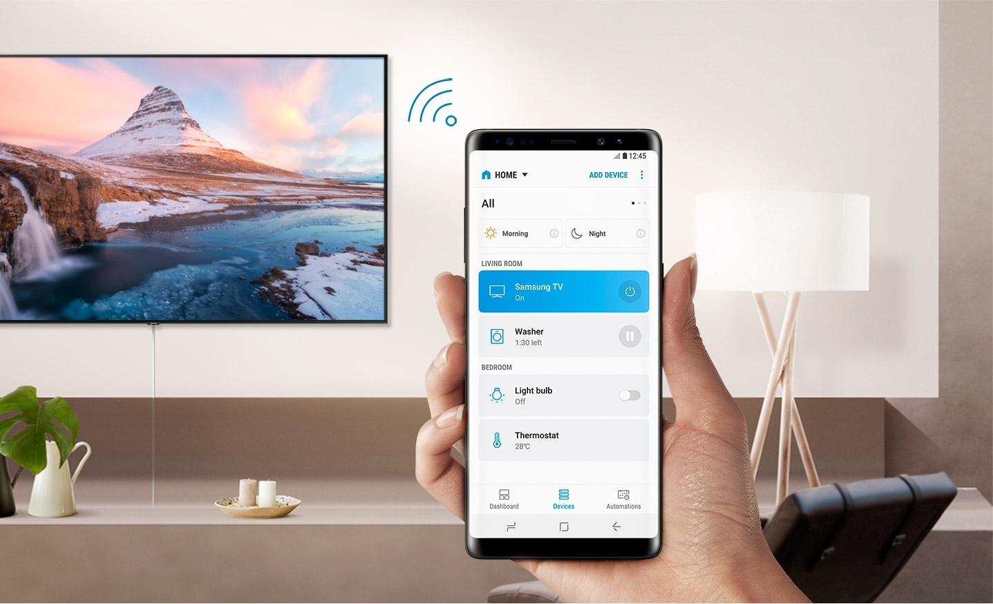 Conectar smartphone Samsung a smart TV Samsung